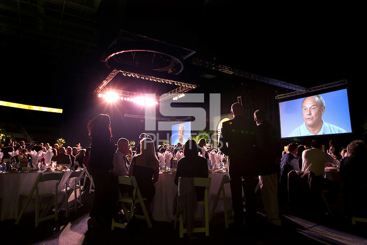 NOVEMBER 14, 2012--SAN JOSE. CA-- San Jose Sport Authority Hall of Fame 2012 dinner at the HP Pavilion.