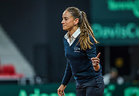 The Hague, The Netherlands, September 15, 2017,  Sportcampus , Davis Cup Netherlands - Chech Republic, Seccond Rubber: ITF Umpire<br /> Photo: Tennisimages/Henk Koster