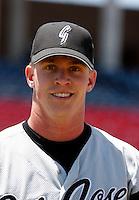 Craig Clark -  2009 San Jose Giants (California League) ..Photo by:  Bill Mitchell/Four Seam Images