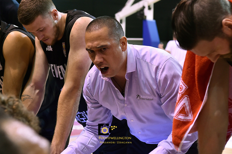 New Zealand Tall Blacks&rsquo; Coach Paul Henare, FIBA World Cup Basketball Qualifier - NZ Tall Blacks v Jordan at Horncastle Arena, Christchurch, New Zealand on Thursday 29 November  2018. <br /> Photo by Masanori Udagawa. <br /> www.photowellington.photoshelter.com