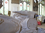 Tomb of Thomas Howard, 3rd Duke of Norfolk, died 1536, Framingham church, Suffolk, England, UK