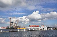 Nederland - Amsterdam -  2019. Amsterdam Noord aan het IJ. Gebied rond de NDSM-Werf. Foto Berlinda van Dam / Hollandse Hoogte