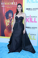"""LOS ANGELES - AUG 7:  Alicia Coppola at the """"Why Women Kill"""" Premiere at the Wallis Annenberg Center on August 7, 2019 in Beverly Hills, CA"""
