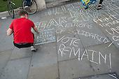 Yes To Europe rally, Trafalgar Square, London.