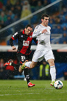 29.03.2014 SPAIN -  La Liga 13/14 Matchday 31th  match played between 5-0 Real Madrid CF vs Rayo Vallecano at Santiago Bernabeu stadium. The picture show Gareth Bale (Wales midfielder of Real Madrid)