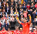 2018-04-06 Davis Cup Quarterfinals Esp - Ger
