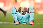 West Ham?s Emmanuel Emenike during the Emirates FA Cup match at Old Trafford. Photo credit should read: Philip Oldham/Sportimage