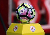 The official Nike Premier League football prior to the Premier League match between Sunderland and Swansea City at the Stadium of Light, Sunderland, England, UK. Saturday 13 May 2017