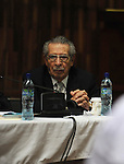 former Guatemalan dictator, Efrain Rios Montt during his second day of trial of in the Supreme Court of Justice Guatemala CIty March 20, 2013.