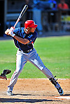 6 March 2009: Washington Nationals' outfielder Justin Maxwell in action during a Spring Training game against the Baltimore Orioles at Fort Lauderdale Stadium in Fort Lauderdale, Florida. The Orioles defeated the Nationals 6-2 in the Grapefruit League matchup. Mandatory Photo Credit: Ed Wolfstein Photo
