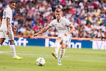 Real Madrid's player Toni Kroos during the XXXVII Santiago Bernabeu Trophy in Madrid. August 16, Spain. 2016. (ALTERPHOTOS/BorjaB.Hojas)