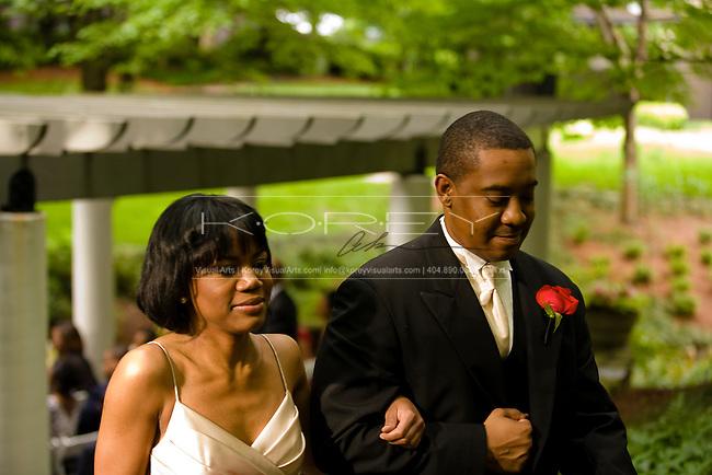 Ravina Club Wedding photographs of Craig Hazard and Shellena Waters in Atlanta, GA
