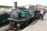 Steam trains of Ffestiniog railway, Porthmadog station, Gwynedd, north west Wales, UK