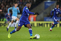 Leicester City's Kelechi Iheanacho<br /> <br /> Photographer Andrew Kearns/CameraSport<br /> <br /> English League Cup - Carabao Cup Quarter Final - Leicester City v Manchester City - Tuesday 18th December 2018 - King Power Stadium - Leicester<br />  <br /> World Copyright &copy; 2018 CameraSport. All rights reserved. 43 Linden Ave. Countesthorpe. Leicester. England. LE8 5PG - Tel: +44 (0) 116 277 4147 - admin@camerasport.com - www.camerasport.com