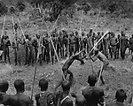 """Donga"" stick fighting, Surma tribe, Omo Valley, southern Ethiopia, 2003-2004"