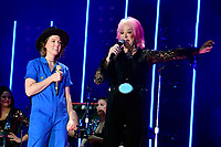 06 June 2019 - Nashville, Tennessee - Tanya Tucker, Brandi Carlile. 2019 CMA Music Fest Nightly Concert held at Nissan Stadium. Photo Credit: Dara-Michelle Farr/AdMedia