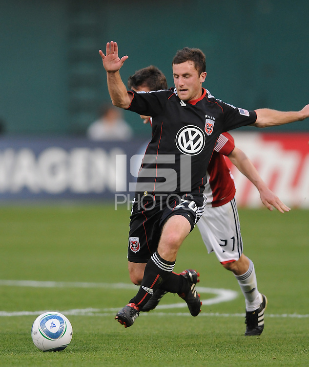 DC United midfielder Stephen King (20).  DC United defeated Chivas USA 3-2 at RFK Stadium, Saturday May 29, 2010.