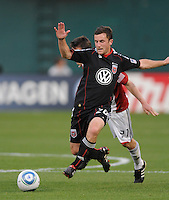 DC United midfielder Stephen King (20).  DC United defeated Chivas USA 3-2 at RFK Stadium, Saturday May 29, 2010.