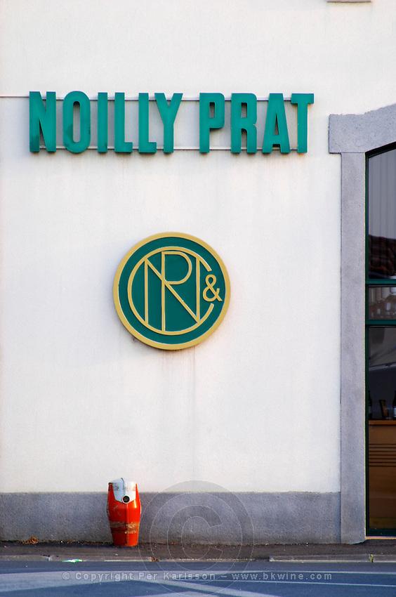 Noilly Prat vermouth factory. Marseillan. Languedoc. France. Europe.