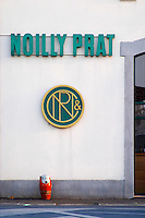 Noilly Prat vermouth factory. Marseillan. Languedoc. France. Europe.