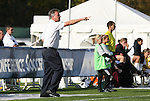 05 November 2008: Duke head coach Robbie Church. Boston College defeated Duke University 1-0 at Koka Booth Stadium at WakeMed Soccer Park in Cary, NC in a women's ACC tournament quarterfinal game.