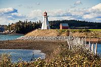 Mulholland Lighthouse, New Brunswick,<br /> Campobello, Canada