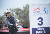 David Micheluzzi (AM) (AUS) during the 3rd round of the VIC Open, 13th Beech, Barwon Heads, Victoria, Australia. 09/02/2019.<br /> Picture Anthony Powter / Golffile.ie<br /> <br /> All photo usage must carry mandatory copyright credit (&copy; Golffile | Anthony Powter)