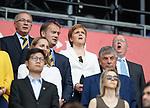 09.06.2019 England v Scotland Women: Nicola Sturgeon and SFA
