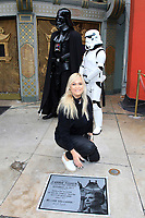 LOS ANGELES - MAY 24: Catherine Hickland at a ceremony to unveil a commemorative plaque in honor of Carrie Fisher at TCL Chinese Theatre IMAX on May 24, 2018 in Los Angeles, CA