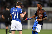 Federico Chiesa and Claud Adjapong of Italy <br /> Bologna 16-06-2019 Stadio Renato Dall'Ara <br /> Football UEFA Under 21 Championship Italy 2019<br /> Group Stage - Final Tournament Group A<br /> Italy - Spain <br /> Photo Andrea Staccioli / Insidefoto