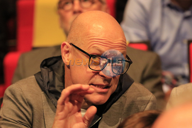 Sir Dave Brailsford at the Tour de France 2020 route presentation held in the Palais des Congrès de Paris (Porte Maillot), Paris, France. 15th October 2019.<br /> Picture: Eoin Clarke | Cyclefile<br /> <br /> All photos usage must carry mandatory copyright credit (© Cyclefile | Eoin Clarke)