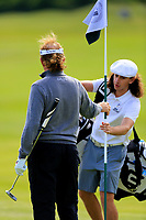 Miguel Angel Jimenez (ESP) during the ProAm ahead of the Lyoness Open powered by Organic+ played at Diamond Country Club, Atzenbrugg, Austria. 8-11 June 2017 April.<br /> 07/06/2017.<br /> Picture: Golffile | Phil Inglis<br /> <br /> <br /> All photo usage must carry mandatory copyright credit (&copy; Golffile | Phil Inglis)