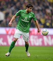 FUSSBALL   1. BUNDESLIGA   SAISON 2011/2012   26. SPIELTAG Borussia Dortmund - SV Werder Bremen               17.03.2012 Sokratis Papastathopoulos (SV Werder Bremen) Einzelaktion am Ball