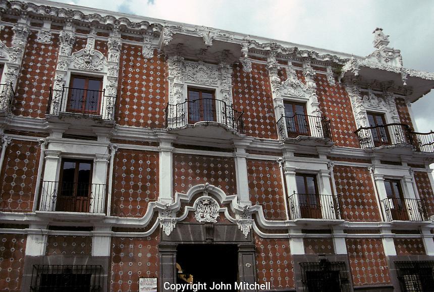 The Museo Casa de Alfenique in the city of Puebla, Mexico