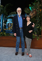 LOS ANGELES, CA - JUNE 12: James Cromwell, Anna Stuart, at Jurassic World: Fallen Kingdom Premiere at Walt Disney Concert Hall, Los Angeles Music Center in Los Angeles, California on June 12, 2018. Credit: Faye Sadou/MediaPunch