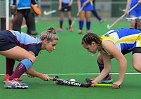 Girls 1st XI hockey. Kuranui College v Tararua College Sports Exchange at Twin Turfs in Clareville, Wairarapa, New Zealand on Friday, 11 August 2017. Photo: Dave Lintott / lintottphoto.co.nz