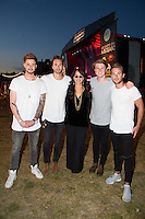 Lawson and Maggie Wheeler<br /> at the launch party for Comedy Central's FriendsFest, presented by The Luna Cinema at Haggerston Park.<br /> <br /> ©Ash Knotek  D3146  23/08/2016