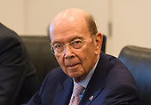 Commerce Secretary nominee Wilbur Ross is seen at a meeting of technology leaders in the Trump Organization conference room at Trump Tower in New York, NY, USA on December 14, 2016. <br /> Credit: Albin Lohr-Jones / Pool via CNP