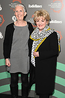 "Ann Cleeves and Brenda Blethyn<br /> at the ""Vera"" photocall as part of the BFI & Radio Times Television Festival 2019 at BFI Southbank, London<br /> <br /> ©Ash Knotek  D3494  13/04/2019"