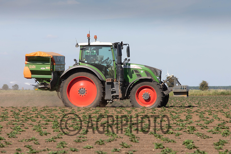 21.5.2020 Applying nitrogen to potatoes growing in the Lincolnshire Fens <br /> ©Tim Scrivener Photographer 07850 303986<br />      ....Covering Agriculture In The UK....