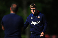 Rhys Priestland of Bath Rugby. Bath Rugby pre-season training session on August 9, 2016 at Farleigh House in Bath, England. Photo by: Patrick Khachfe / Onside Images