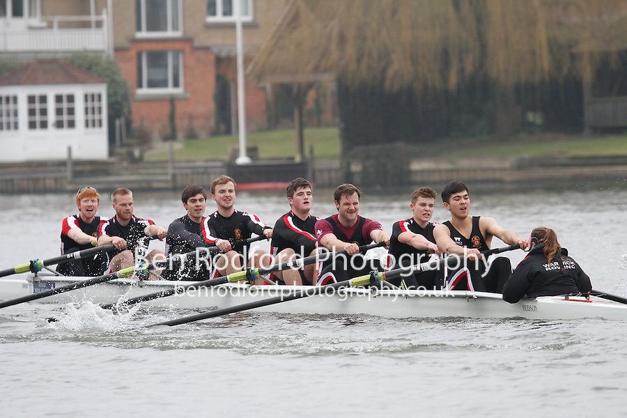 Crew: 11 - Warwick Univ  - IM3.8+ <br /> <br /> Henley Fours &amp; Eights Head 2017<br /> <br /> To purchase this photo, or to see pricing information for Prints and Downloads, click the blue 'Add to Cart' button at the top-right of the page.