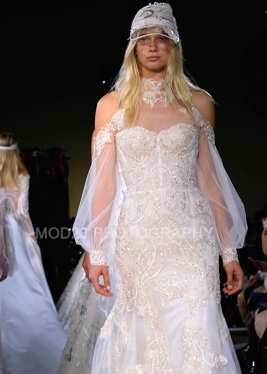 RITA VINIERIS, RIVINI, Alyne by Rita Vinieris NYC Bridal Fashion Week, Fall Winter 2018 Runway Show