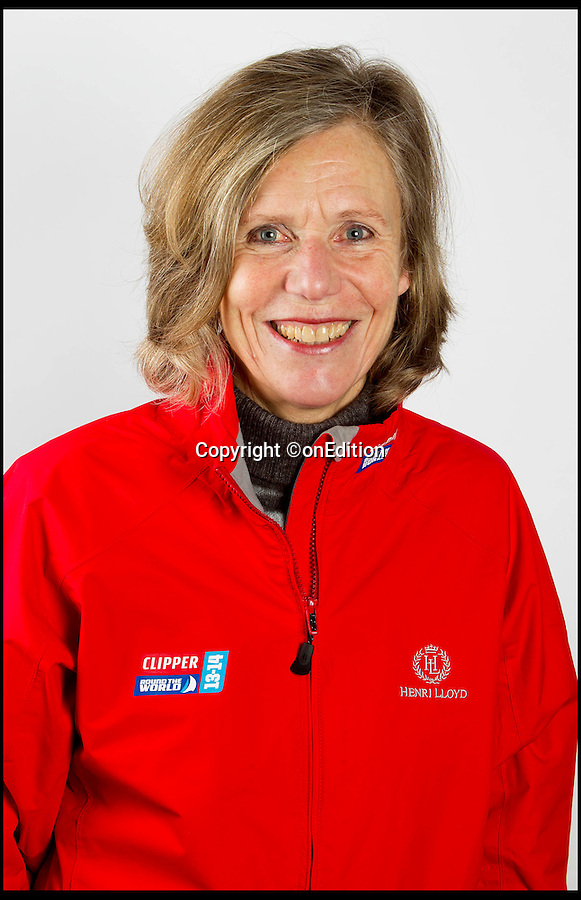 BNPS.co.uk (01202 558833)<br /> Pic: onEdition/BNPS<br /> <br /> ***Please Use Full Byline***<br /> <br /> Clipper crew member Liz Richards (65), who was swept overboard.<br /> <br /> This is the heart-stopping moment two British sailors are washed off the side of a yacht as it is knocked flat by a tornado in the middle of the ocean.<br /> Sarah Usher and Liz Richards are seen desperately trying to grab hold of the 70ft boat as they are swept overboard when the freak weather conditions hit.<br /> Their 70ft yacht was blown onto one side as the wind built then smashed almost 180 degrees onto the other as the tornado struck.<br /> Winds of more than 115mph pinned the capsized yacht down for around 60 seconds.<br /> Dramatic footage of the ordeal shows the boat's crew dragging the pair out of the water and back on board the boat as the winds ease.<br /> The tornado can then be seen disappearing into the distance as the boat returns to upright.<br /> Sarah, 34, from Hull, East Yorks, and Liz, 65, from Dartmouth, Devon, were both wearing life jackets at the time and were shaken but uninjured in the ordeal.<br /> They were part of an 18-strong crew on the Great Britain yacht competing in the Clipper Round the World Race, a 40,000-mile yacht race for amateur sailors.