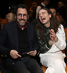 Tony Kushner and Jordan Roth attends the 2019 DGF Madge Evans And Sidney Kingsley Awards at The Lambs Club on March 18, 2019 in New York City.