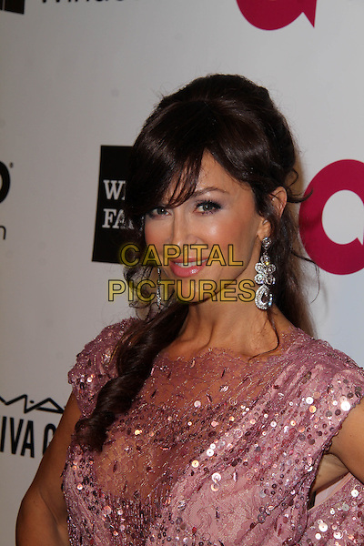 WEST HOLLYWOOD, CA - March 02: Sofia Milos at the 22nd Annual Elton John AIDS Foundation Oscar Viewing Party, Private Location, West Hollywood,  March 02, 2014.  <br /> CAP/MPI/JO<br /> &copy;Janice Ogata/MediaPunch/Capital Pictures