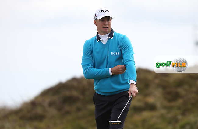 Alex Noren (SWE) on the 8th during Round Three of the 2015 Dubai Duty Free Irish Open Hosted by The Rory Foundation at Royal County Down Golf Club, Newcastle County Down, Northern Ireland. 30/05/2015. Picture David Lloyd | www.golffile.ie