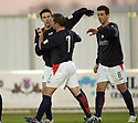 26/12/2004  Copyright Pic : James Stewart.File Name : jspa03_falkirk_v_airdrie.DAYRLL DUFFY CELEBRATES AFTER SCORING FALKIRK'S FIRST....Payments to :.James Stewart Photo Agency 19 Carronlea Drive, Falkirk. FK2 8DN      Vat Reg No. 607 6932 25.Office     : +44 (0)1324 570906     .Mobile   : +44 (0)7721 416997.Fax         : +44 (0)1324 570906.E-mail  :  jim@jspa.co.uk.If you require further information then contact Jim Stewart on any of the numbers above.........