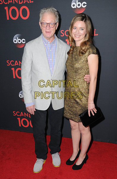 08 April 2017 - West Hollywood, California - Jeff Perry, Zoe Perry. ABC's 'Scandal' 100th Episode Celebration held at Fig &amp; Olive in West Hollywood.   <br /> CAP/ADM/BT<br /> &copy;BT/ADM/Capital Pictures