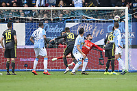 Kevin Bonifazi of SPAL scores goal of 1-1 <br /> Ferrara 13-4-2019 Stadio Paolo Mazza Football Serie A 2018/2019 SPAL - Juventus <br /> Foto Andrea Staccioli / Insidefoto
